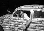 George Bush at a hamburger fry in Marshall, TX, during the 1970 Senate Race, 17 Jul 70.jpg