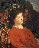 George Frederic Watts - Portrait of Eveleen Tennant (later Mrs. F.W.H. Myers).jpg