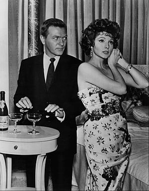 George Grizzard - George Grizzard with Patricia Barry in The Twilight Zone episode The Chaser.