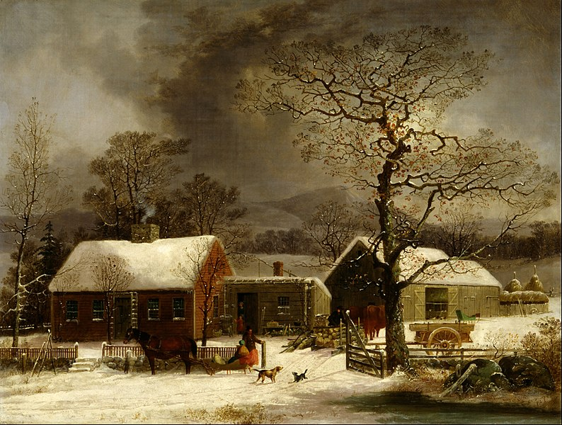 File:George Henry Durrie - Winter Scene in New Haven, Connecticut - Google Art Project.jpg