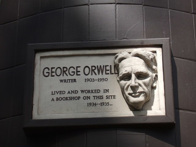 George Orwell in Hampstead - geograph.org.uk - 432863
