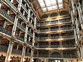 George Peabody Library, 17 E. Mount Vernon Place, Baltimore, MD 21202 (33748671343).jpg