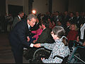 George W. Bush greets Pentagon employee Judy Gilliom.jpg