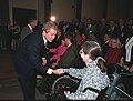 George W. Bush greets Pentagon employee Judy Gilliom.jpg