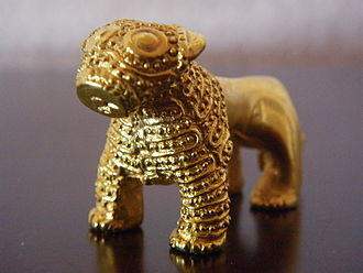 Cultural depictions of lions - Georgian lion from Colchis