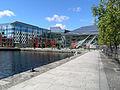 Gestaltung des Grand Canal Theatre Square, Dublin.JPG