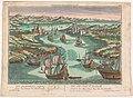 Gezicht op de zeestraat de Dardanellen Prospect der Meer-Enge bey den Dardanellen (titel op object) Dardanellen (serietitel), RP-P-1932-280.jpg