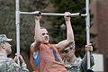 Giavonee Rowe, Federal Way High School, competes in the pull-up bar challenge.jpg