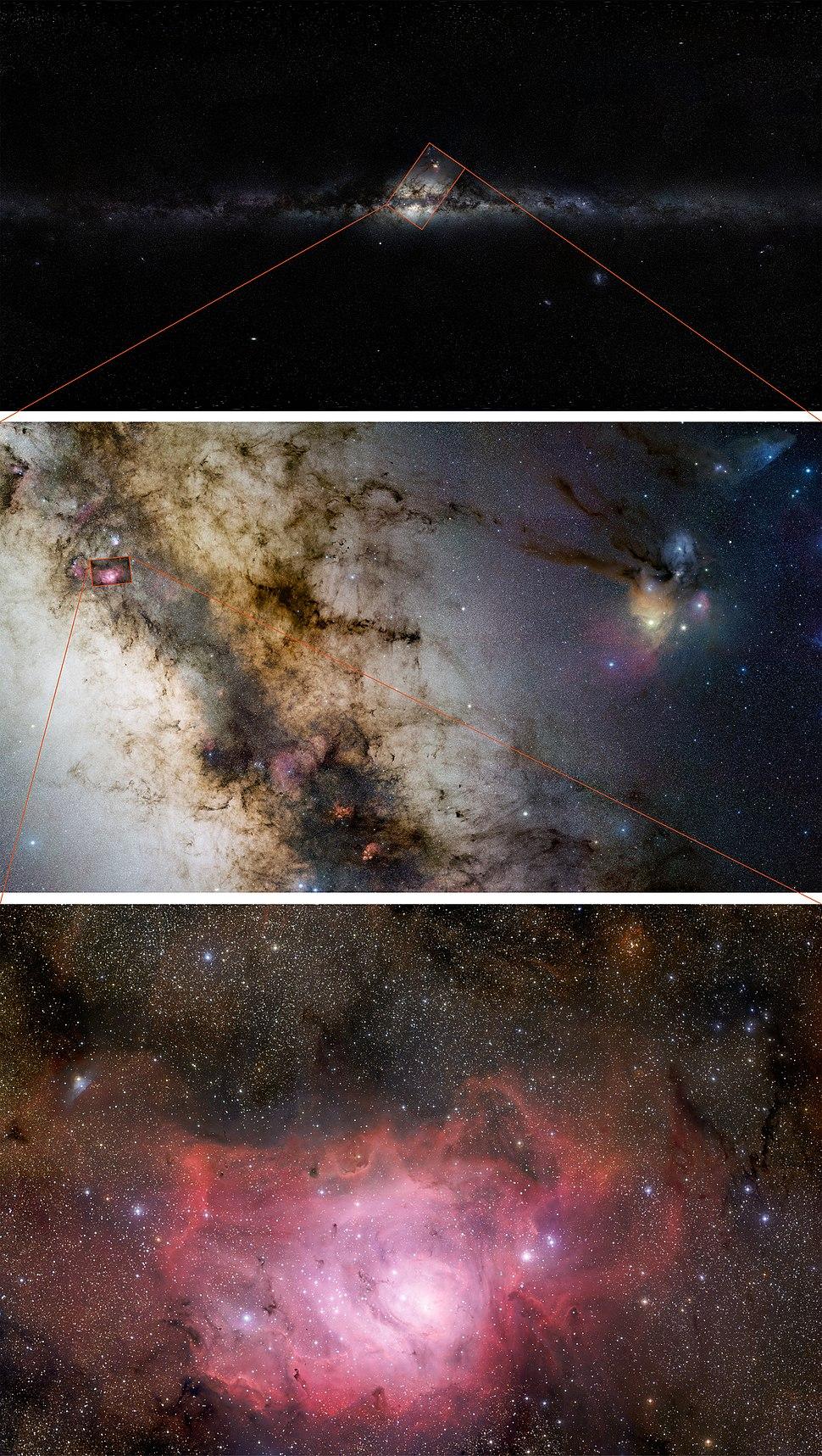 GigaGalaxy Zoom composite