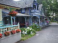 Gingerbread cottages; Oak Bluff, Martha's Vineyard, MA, USA.JPG