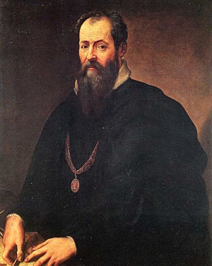 1567 in art - Giorgio Vasari, Self-portrait