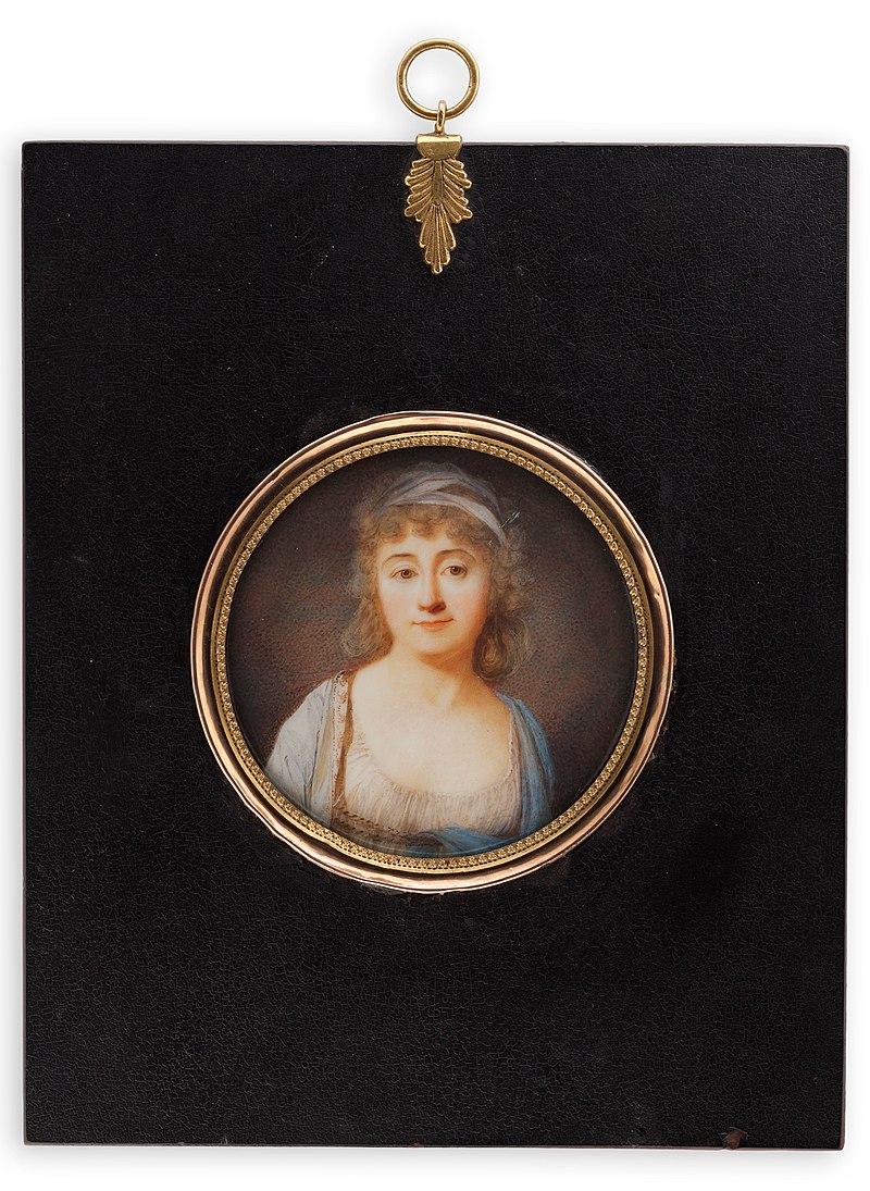 Giovanni Domenico Bossi - Portrait of a lady - S-1998-133 - Finnish National Gallery.jpg