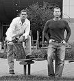 Glen Schofield and Michael Condrey at the Sledgehammer Games headquarter -- 21 October 2009.jpg