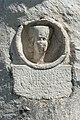 Globasnitz Karner Medaillonstele der Peccia Ingenua und Inschrift 02052015 0862.jpg