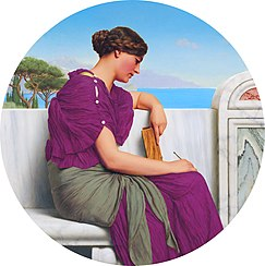 Godward-The Answer-1917.jpg