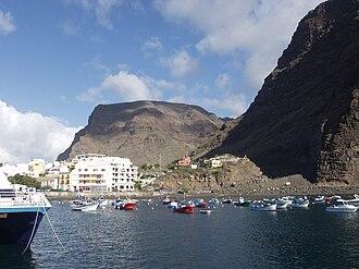 Valle Gran Rey - Vueltas harbour