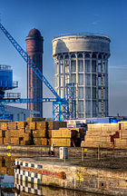 Goole water towers