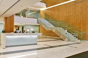 Gouverneur Health - The main lobby at Gouverneur Health