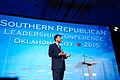 Governor of Louisiana Bobby Jindal at Southern Republican Leadership Conference, Oklahoma City, OK May 2015 by Michael Vadon 12.jpg