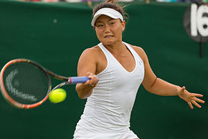 Grace Min - Grace during the 2015 Wimbledon Women's Singles Qualifying