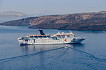 Grand Celebration cruise ship - Santorini - Greece - 01.jpg
