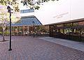 Grant R. Brimhall Library entrance 2015-03-06.jpg