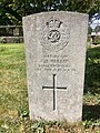 Gravestone of Company Quartermaster Serjeant C.H. Warren of the Royal Engineers at Cathays Cemetery, May 2020.jpg