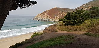 Gray Whale Cove State Beach - Image: Graywhale Cove State Beach California United States