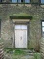 Green Haworth Wesleyan Chapel, Doorway - geograph.org.uk - 717367.jpg