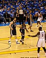 Grizzlies at Thunder 2011 playoffs.jpg