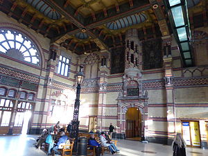Groningen railway station - Entrance Hall of the railway station