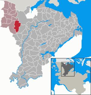 Großenwiehe - Image: Grossenwiehe in SL