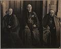 Groupe des trois Cardinaux, XXme Congres Eucharistique a Montreal (HS85-10-22984).jpg