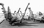 Grumman F9F-2 Panther of VF-61 aboard USS Franklin D. Roosevelt (CVB-42), in 1951.jpg