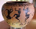 Gruppo dei dinoi campana, ribbon painter, prod. etrusca con maestranze ioniche, dinos con danzatori, 540-520 ac ca. 01.JPG