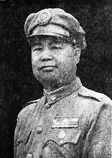 Guan Linzheng Chinese general