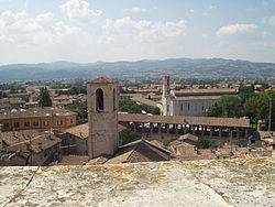 Panorama of Gubbio