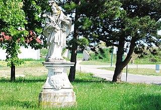 Figur heiliger Johannes Nepomuk