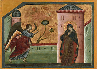 Guido of Siena - Image: Guido da Siena Annunciation Google Art Project