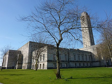 The Guildhall Guildhall and Brangwyn Hall, Swansea.jpg