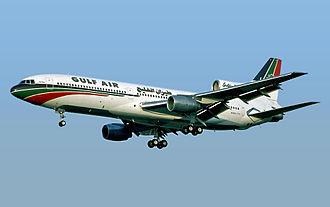 Lockheed L-1011 TriStar - Image: Gulf Air Lockheed L 1011 385 1 15 Tri Star 200 Fitzgerald