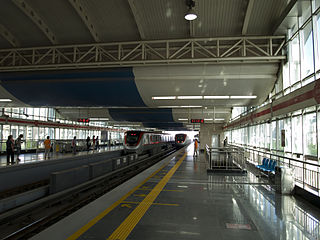 Batong line line of the Beijing Subway