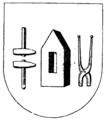 Härjedalens vapen, Nordisk familjebok.png