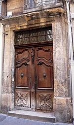 Hôtel 4 rue Clémenceau Aix-en-Provence.JPG