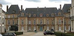 Prefektura budynek departamentu Seine-et-Marne, w Melun