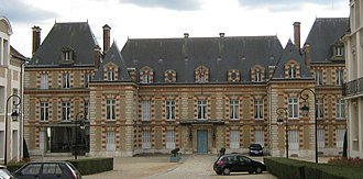 Seine-et-Marne - Prefecture building of the Seine-et-Marne department, in Melun