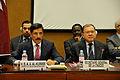 H.E. Dr. Hamad bin Abdulaziz Al-Kawari and UNCTAD Secretary-General Supachai Panitchpakdi (6935532683).jpg