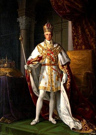 Francis II on his coronation