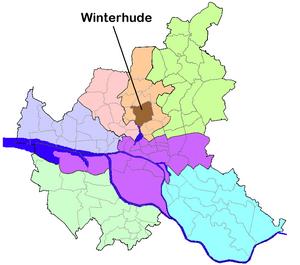 Winterhude - Image: HH Winterhude quarter