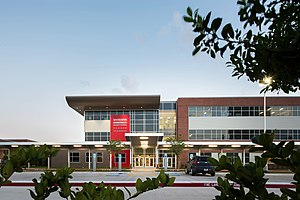 PBK Architects - Image: HISD Mandarin Immersion Magnet School Exterior